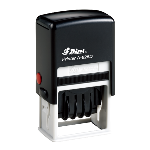 Shiny S-826D Self-Inking Date Stamp