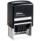S-827D Shiny Self-Inking Date Stamp